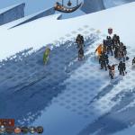Battle of snowy cliffs.